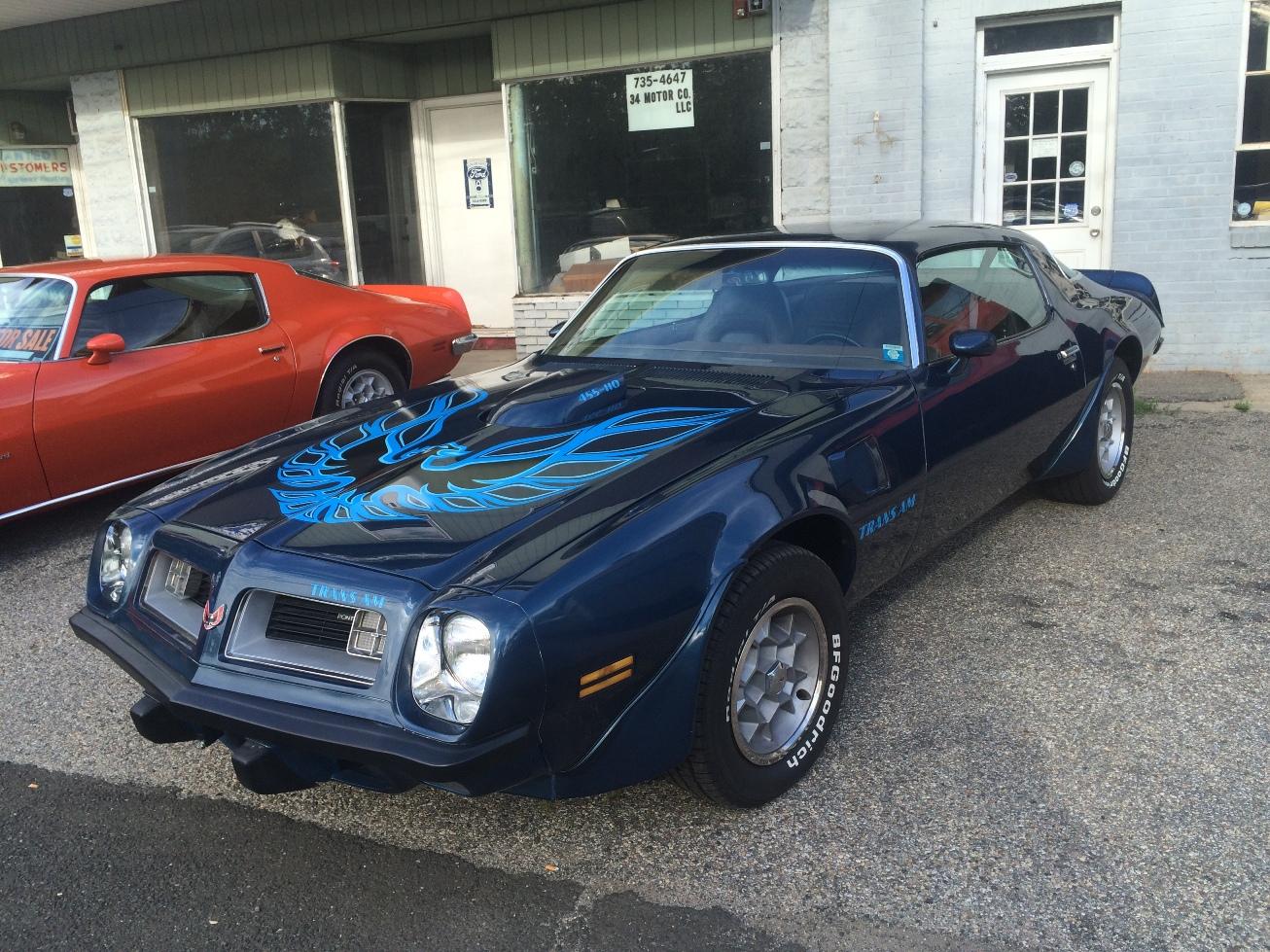 34 Motor Co LLC | Classic Cars - 1975 Trans Am