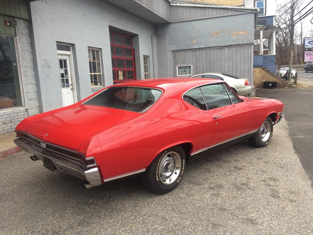 34 Motor Co LLC | classic cars - 1968 Chevelle SS396