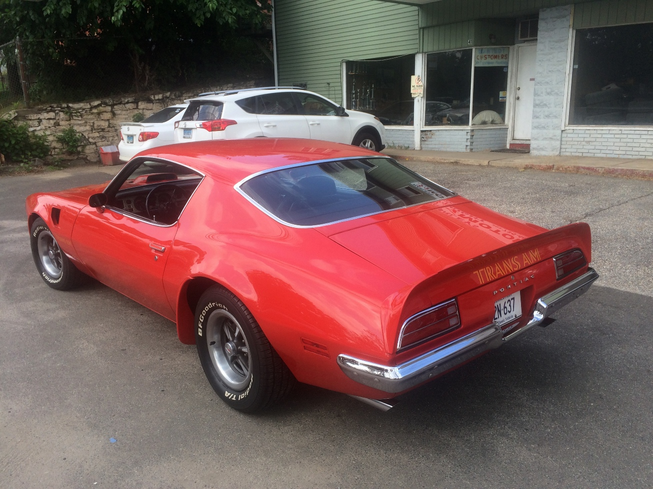 34 Motor Co LLC   Classic Cars - 1973 Trans Am
