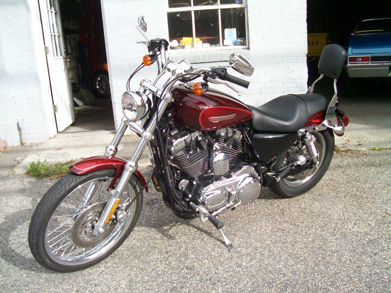 34 motor co llc harley davidson 2008 sportster 1200 custom for Harley davidson motor co